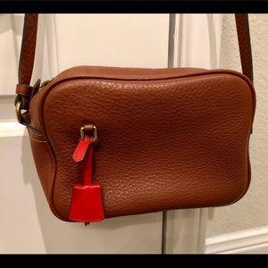 J Crew leather crossbody bag